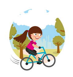 sport kids activity vector image