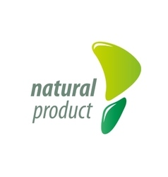 Stamp of the natural product vector