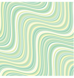 Vintage 60s style pale green stripes pattern vector