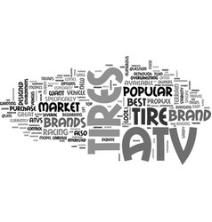 which brand of atv tires is the best text word vector image