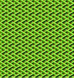 green chain link fence vector image