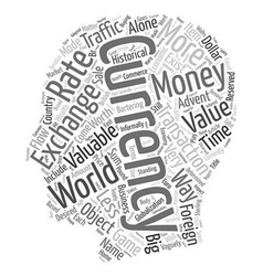 The Monster Traffic Way Of Currency Exchange text vector image vector image