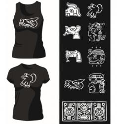 shirt14 vector image vector image