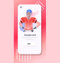 American football player happy labor day vector