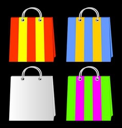 bags for purchases vector image