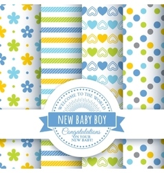 Design for the newborn vector image