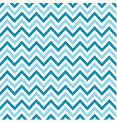 light blue chevron retro decorative pattern vector image