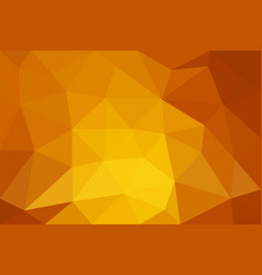 orange low poly background abstract polygon design vector image