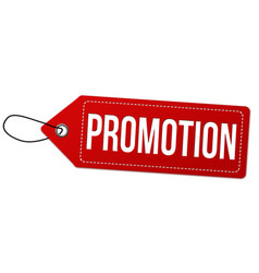 Promotion label or price tag vector