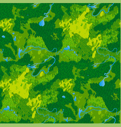 Seamless texture terrain map vector