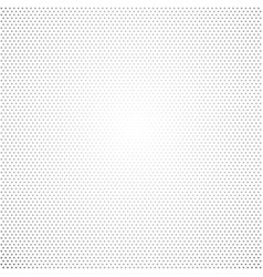 small gray dots gradient on white background vector image
