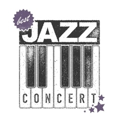 Urban jazz Art concept vector image