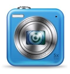 Easy camera icon vector image vector image