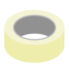 Adhesive tape isolated on white background vector