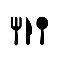 Cutlery icon vector