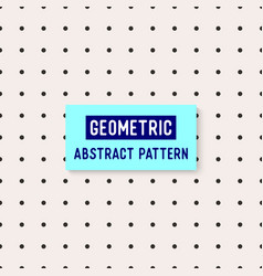 Geometric abstract pattern and background vector