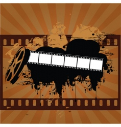 grunge entertainment vector image