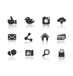 Icons for web and mobile vector
