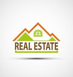 Logo real estate vector