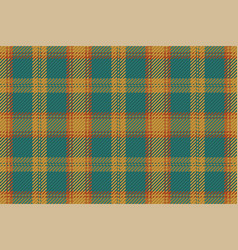 Seamless plaid pattern background for flannel vector