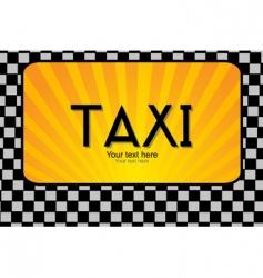Taxi text vector