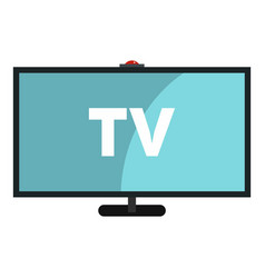 television icon isolated vector image