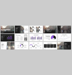 Tri fold business brochure creative corporate vector