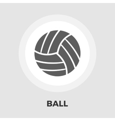 Volleyball flat icon vector