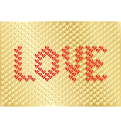 background for Day of Valentine vector image vector image
