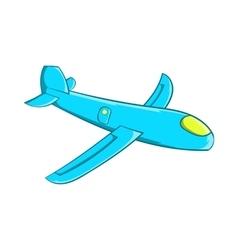 Children plane icon cartoon style vector image