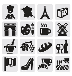 French culture vector image