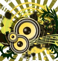 grunge festival vector image vector image