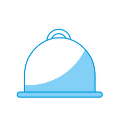 platter icon image vector image