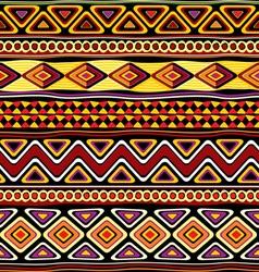 afrikan seamless ornament vector image