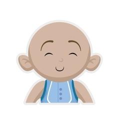 Boy cartoon icon Baby concept graphic vector image