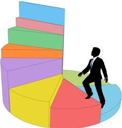 Business Ladder vector image