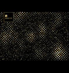 gold glitter explosion confetti texture on a vector image