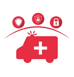 insurance concept vector image