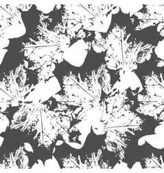 Maple leaves seamless pattern vector