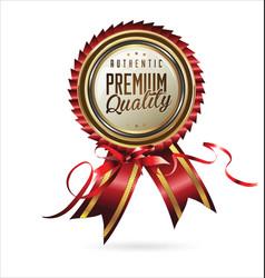 Premium quality medal vector