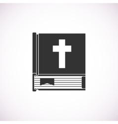 bible book icon vector image vector image