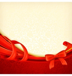 Greeting background vector image