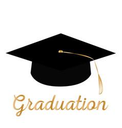 happy graduation background vector image