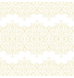 Abstract beige swirls seamless pattern vector