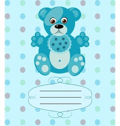 baboy greeting card background eps10 vector image