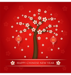 Chinese new year background vector