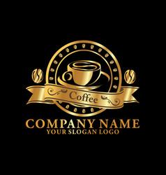 coffee company 02 vector image