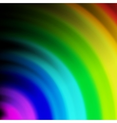 Abstract rainbow colours on a background vector image vector image