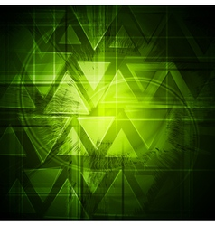 Green bright background vector image vector image