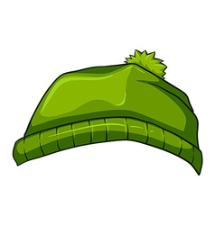 A green bonnet vector